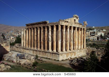 Temple Of Bacchus, Baalbek, Lebanon
