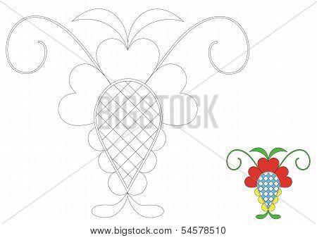 The Moravia ornament _coloring_5