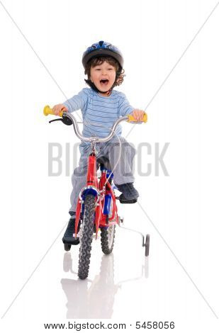 Kleine Biker.