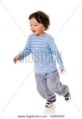 Running Child.