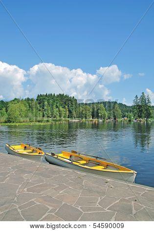 Lake Schwarzsee,Kitzbuehel,Tirol,Austria