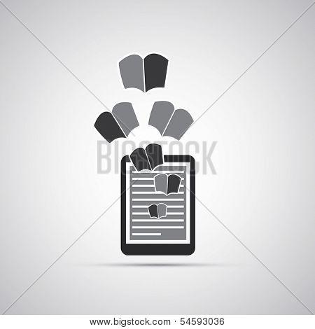 E-Book Icon Design
