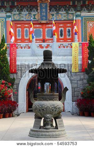 Po Lin Monastery in Hong Kong