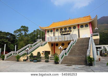 Temple In Hong Kong, China