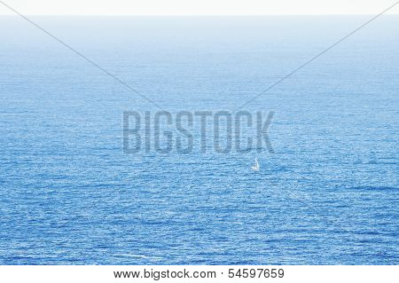 Sailing In The Ocean
