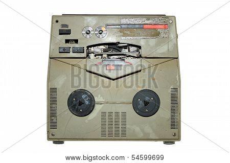 Old Damaged Analog Recorder