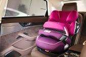 Постер, плакат: Luxury Baby Car Seat For Safety