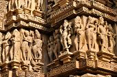 picture of shiva  - Human sculptures of Vishvanatha Temple - JPG