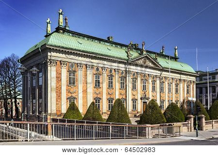 House Of Nobility , Stockholm