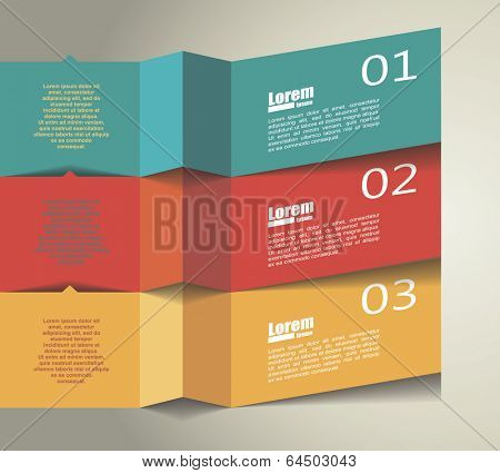 abstractTemplates design for infographic