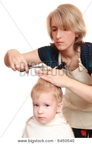 Mom Trim Child