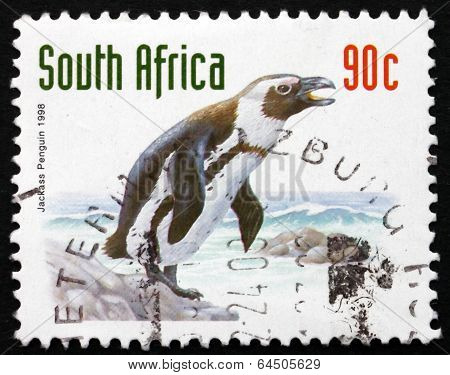 Postage Stamp South Africa 1998 Jackass Penguin, Bird