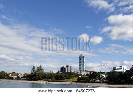 Takapuna skyline, North Shore City, New Zealand
