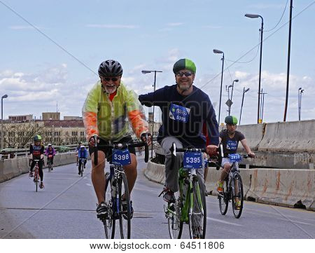 Buddies Riding together on BQE