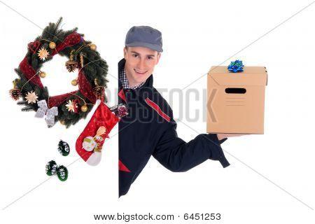 Postman  Christmas Delivery