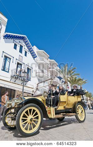 54Th Rally Barcelona-sitges Second Phase Race.
