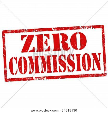 Zero Commission-stamp