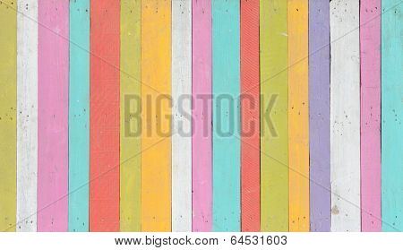 Natural colorful wooden background