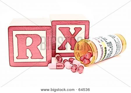 Illustration Of Antibiotics Perscription