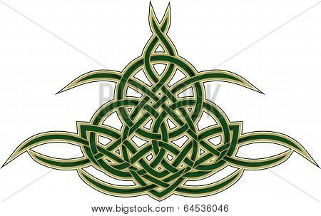 Celtic decorative pattern