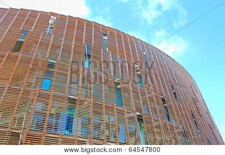 Building Of Biomedical Research Park (parc De Recerca Biomedica