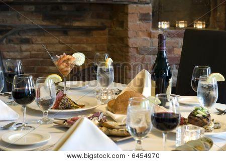 Elegant Meal At Home