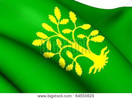 Flag Of Vest-agder