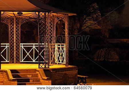 Bandstand At Night