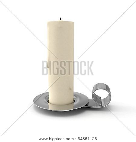 Candlestick With Candle