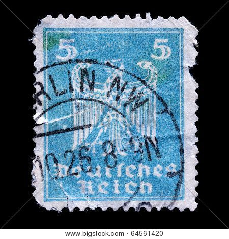 Old Postage Stamp Germany
