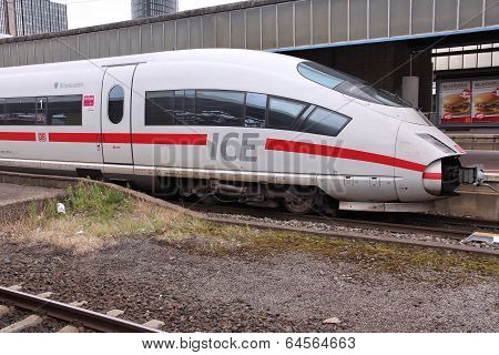 Fast Train In Germany