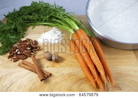 Making Carrot Cake