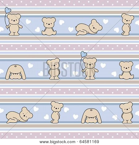 pattern with Bear