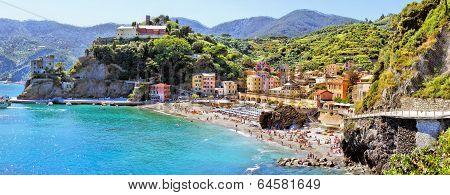 Italian coast panorama