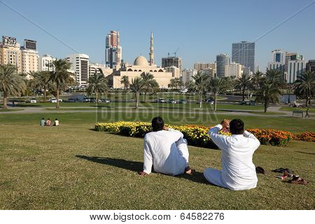 Main Square In Sharjah City