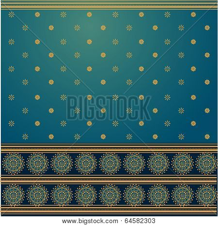Blue saree background