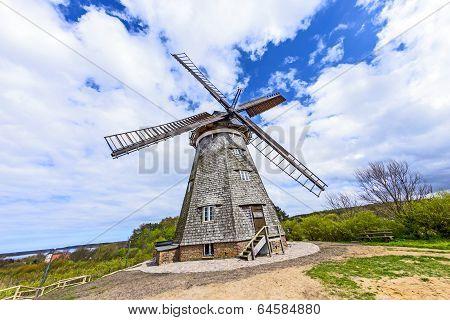 Dutch Windmill In Benz