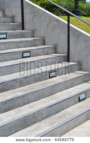 Concrete Step Stair