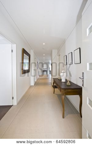 Entry Hall To Stylish Contemporary Home