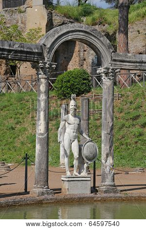 Canopus Of The Hadrian - The Hadrian's Villa