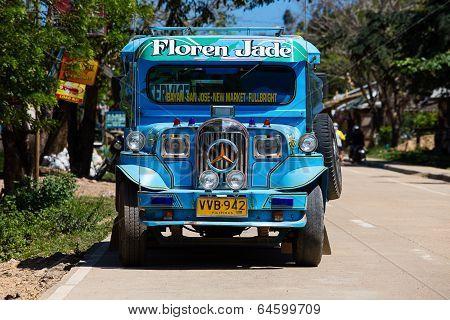 Jeepney, Philippines .