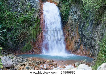 Waterfall In Dumaguete, Philippines.