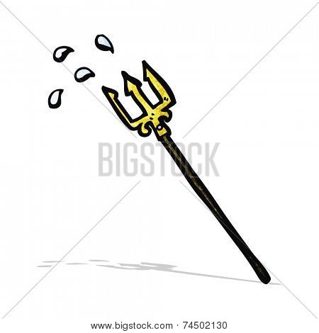 cartoon trident