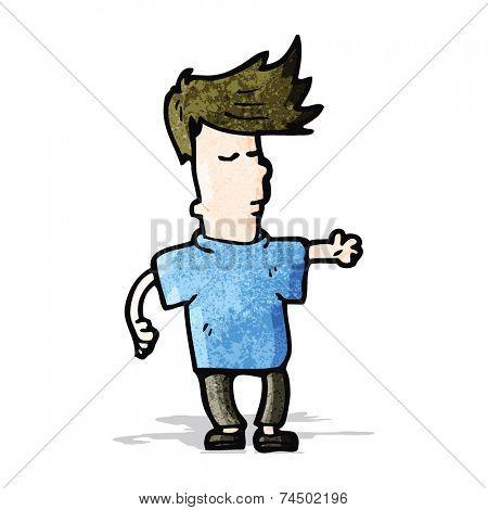 cartoon jaded teen