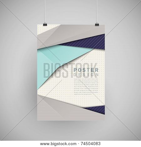 Modern Abstract Poster Template Set