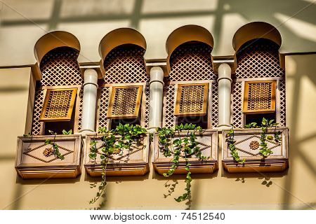 Windows In Traditional Style.tunis
