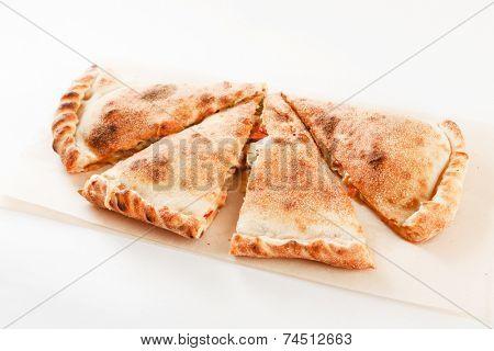 Calzone pizza