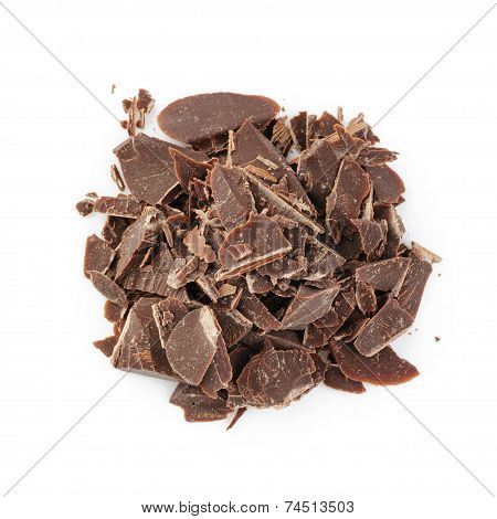 Heap Of Crushed Chocolate
