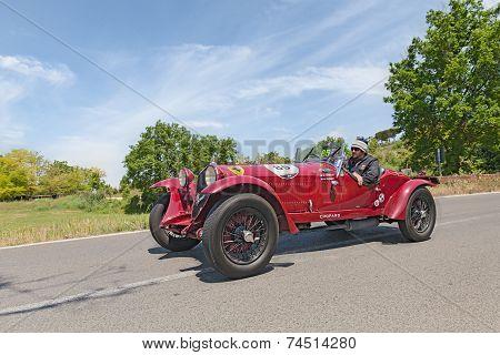 Alfa Romeo 6C 1500 Gs Zagato (1933) In Mille Miglia 2014