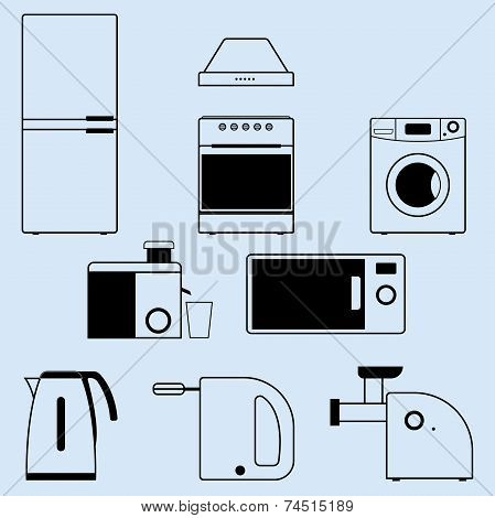 appliances for the kitchen and home